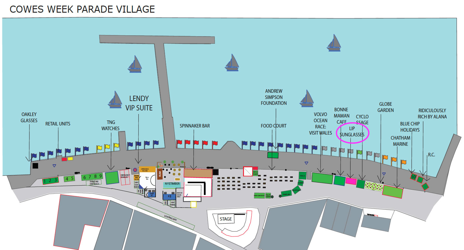 Parade-Village-Map